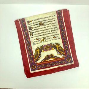 Book of Kells Ireland Graphic Scarf Gaelic